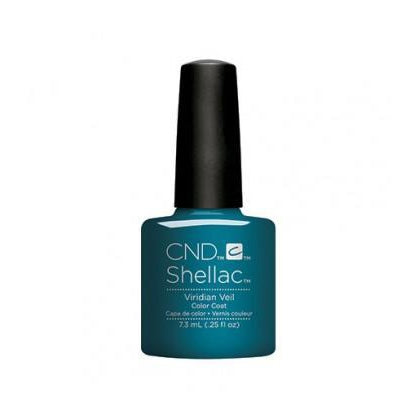 CND Shellac Viridian Veil-Nail Supply UK