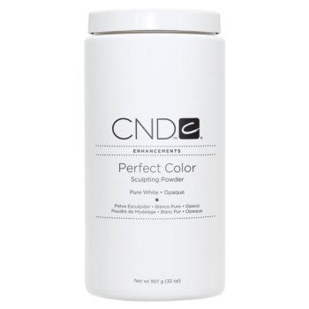 Acrylic Powder CND Pure White 32oz-Nail Supply UK