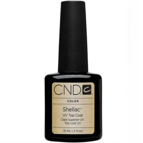 CND Shellac Top Coat 15ml-Nail Supply UK