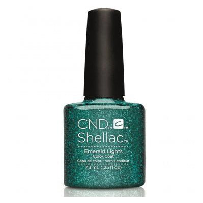 CND Shellac Emerald Lights-Nail Supply UK