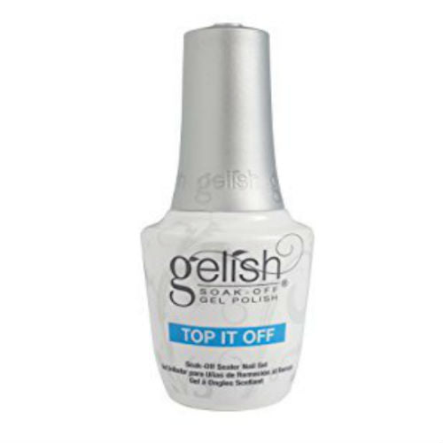 gelish gel nail top coat- top it off-Nail Supply UK