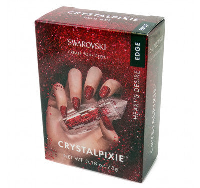Swarovski Crystal Pixie Edge - Heart's Desire-Nail Supply UK