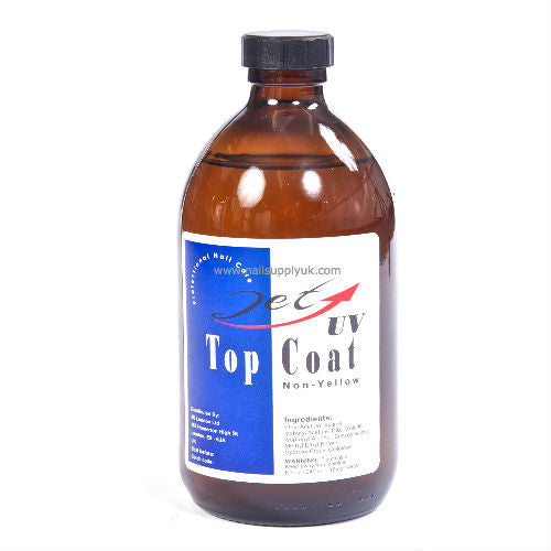 Jet UV Top Coat 16oz-Nail Supply UK