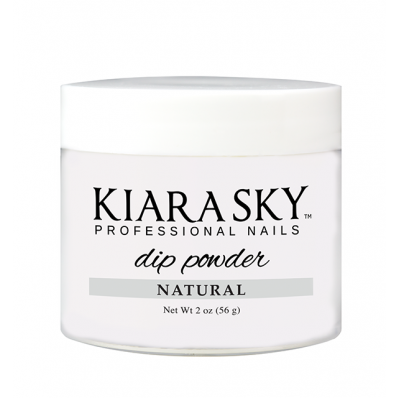 KIARA SKY DIP POWDER - NATURAL 2OZ-Nail Supply UK