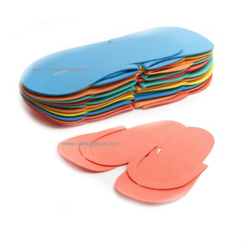 Pedi Slippers Multi Colour Non-Slip-Nail Supply UK