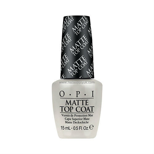 OPI Matte Top Coat-Nail Supply UK