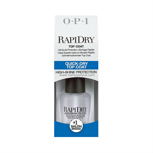 OPI Rapi Dry Top Coat-Nail Supply UK