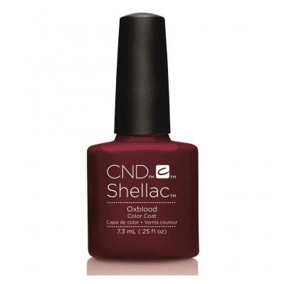 CND Shellac Oxblood-Nail Supply UK