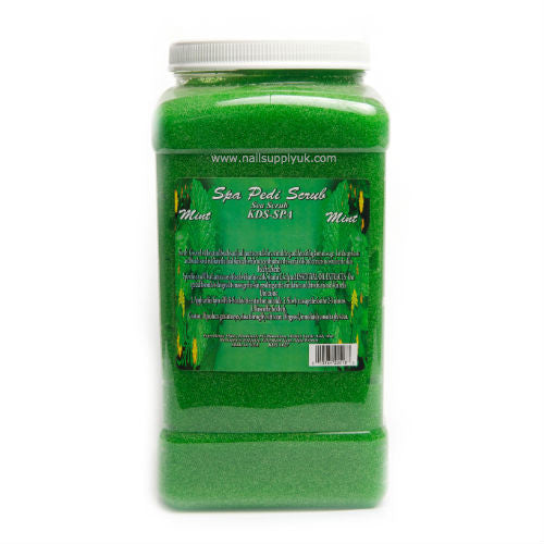 Mint Pedi Scrub Gallon-Nail Supply UK