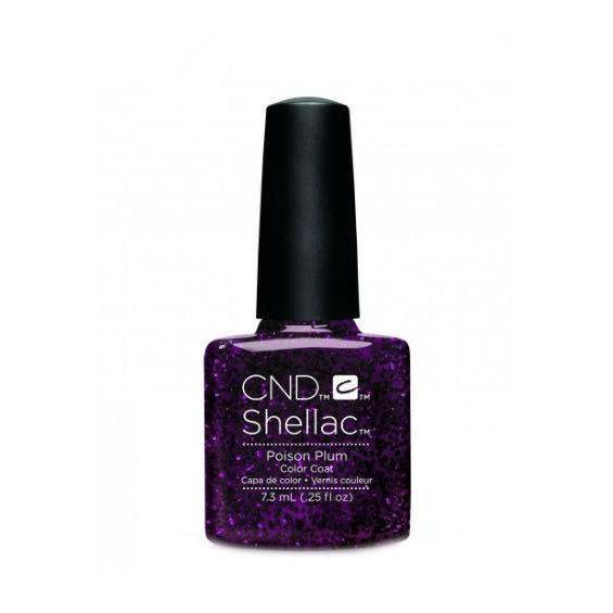 CND Shellac Poison Plum-Nail Supply UK
