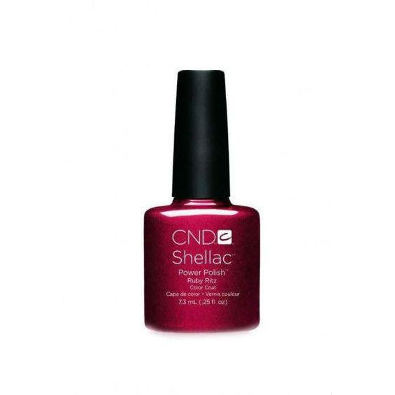 CND Shellac Ruby Ritz-Nail Supply UK