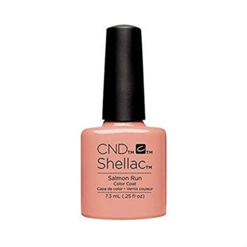 CND Shellac Salmon Run-Nail Supply UK