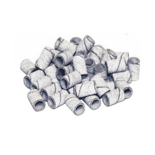 White Sanding Band medium Bag of 100pcs-Nail Supply UK
