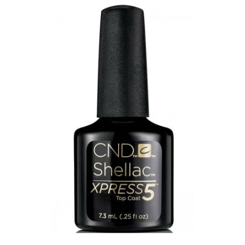 CND Shellac Xpress5 Top Coat 7.3ml-Nail Supply UK