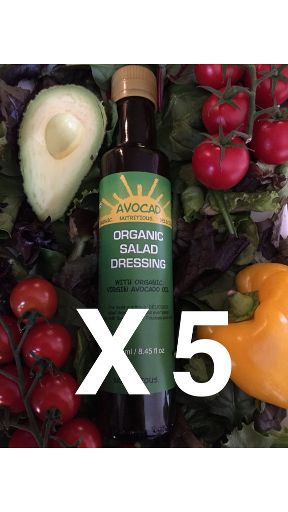 5 x Organic Superfood Salad Dressing