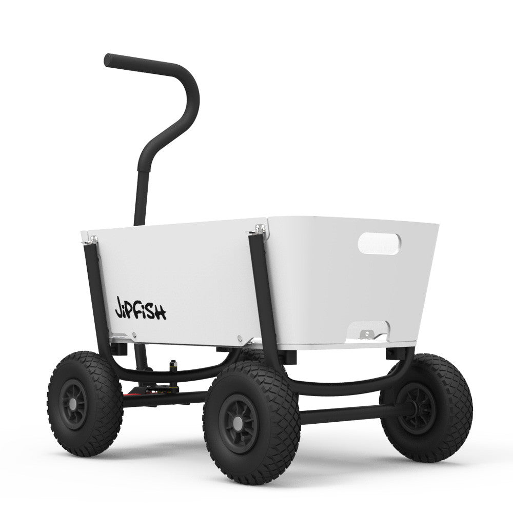 Coming Kids Jip.Jipfish Kids Wagon White Jipfish Kids Wagons