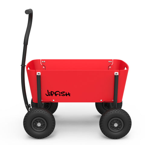 Jipfish Wagon - Bright Red