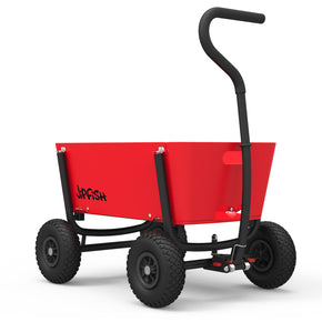 Jipfish Kids Wagon - Bright Red