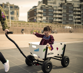 Jipfish Kids Wagon - White