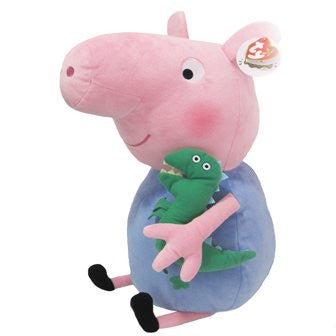 Giant George Pig TY 15'' Classic Soft Toy