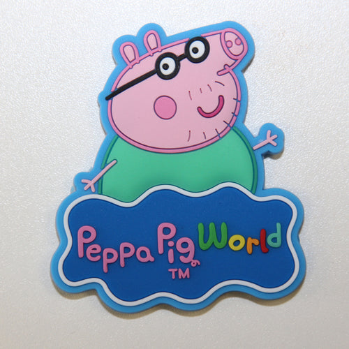 Peppa Pig World Daddy Pig Magnet