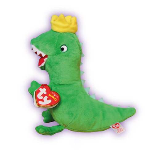Prince Mr Dinosaur TY Beanie Soft Toy