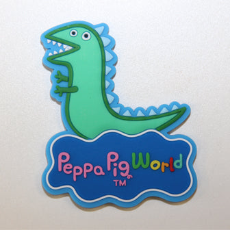 Peppa Pig World Mr Dinosaur Magent