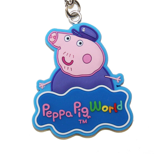 Peppa Pig World  Grandpa Pig Key Ring