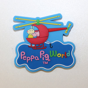 Peppa Pig World Helicopter Magnet