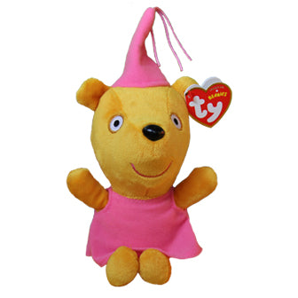 Peppa's Princess Teddy TY Beanie Soft Toy