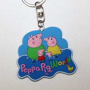 Peppa Pig World Family Key Ring