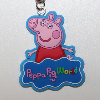 Peppa Pig World Peppa Key Ring