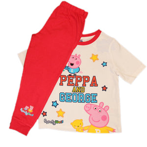 Exclusive Peppa & George Pig All Stars Pyjamas