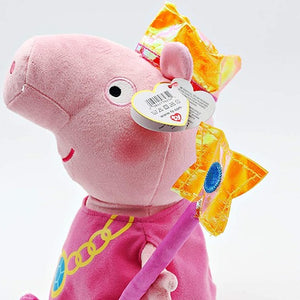 "Princess Peppa Pig TY 10"" Medium Soft Toy"