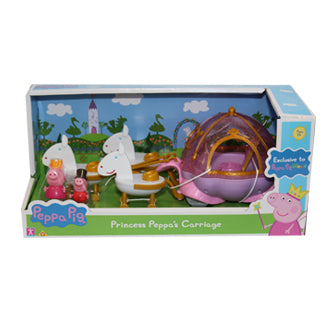 EXCLUSIVE Princess Peppa's Royal Carriage Playset
