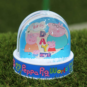 Peppa Pig World Photo Snow Globe
