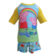 NEW & EXCLUSIVE Peppa Pig World Yellow PJ Short Set