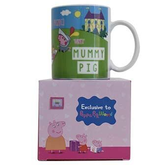 EXCLUSIVE Mummy Pig Mug