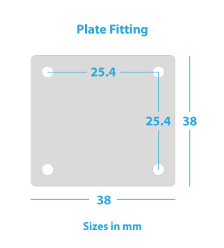 plate-fitting-black-polypropylene-wheels