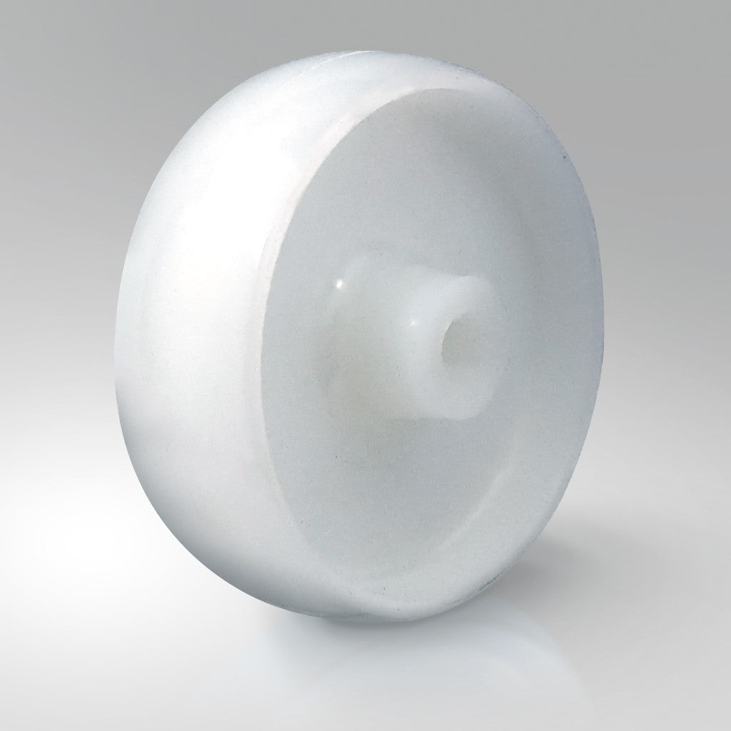 Solid White Nylon Wheels