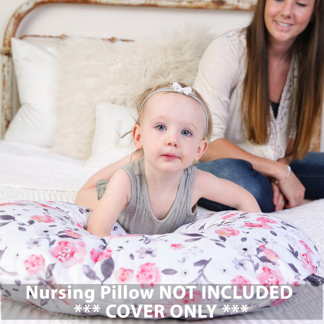 Nursing Pillow Cover- Petal