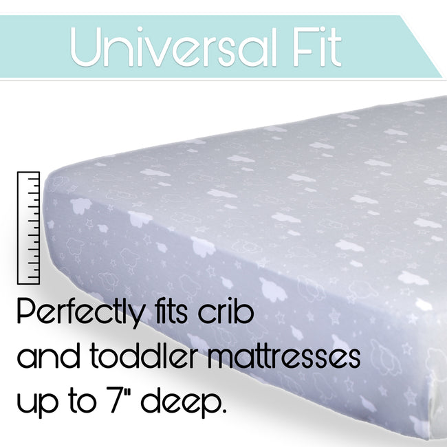 It has a universal fit for any toddler mattresses