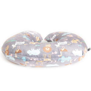 Minky Nursing Pillow Cover | Jungle Pattern Slipcover