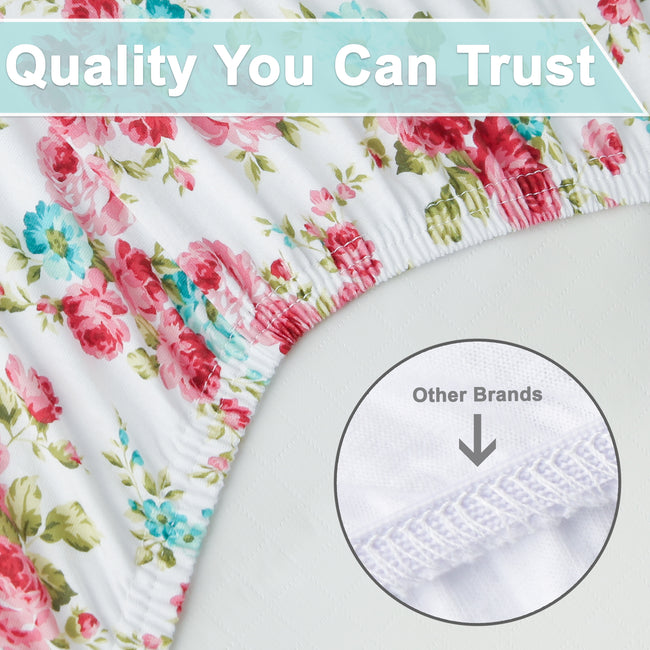 Graco Pack N Play crib sheets are made with high-quality elastic band