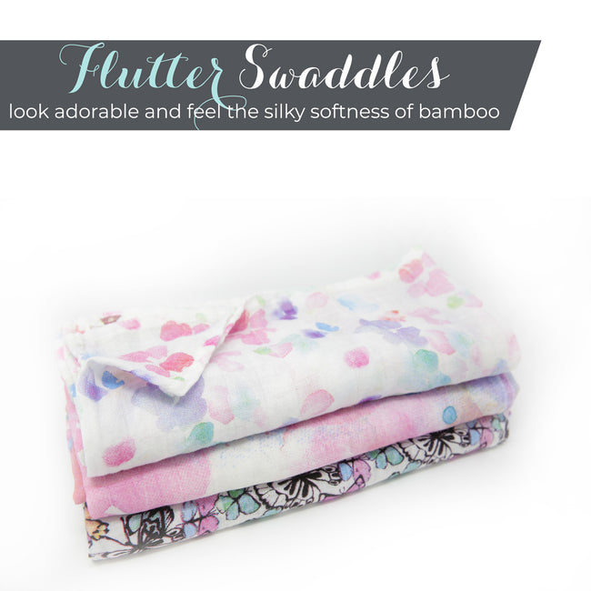 Feel the silky softness of our muslin swaddle blanket