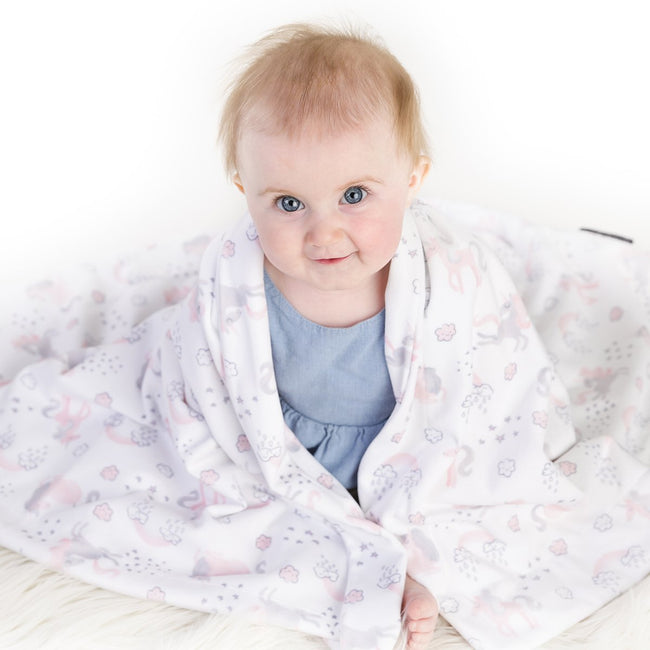 Our baby blanket can be use as nursing cover