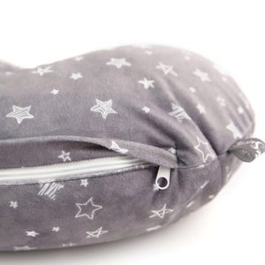 Minky Nursing Pillow Cover | Stars Pattern Slipcover