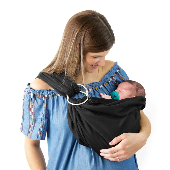 4 in 1 Baby Wrap Carrier in Black