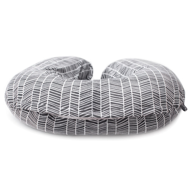 Our minky nursing pillow cover is made from soft fabric