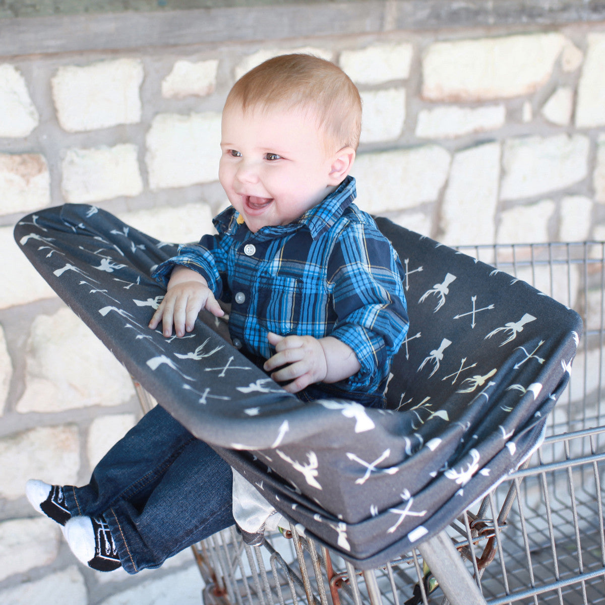 Shopping Cart Nursing Breastfeeding Cover Stretchy Multi Use Car Seat Canopy